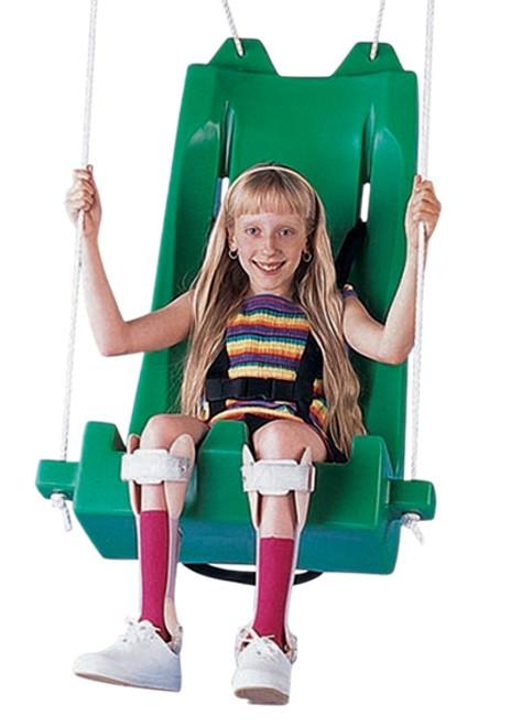deluxe swing seat with pommel