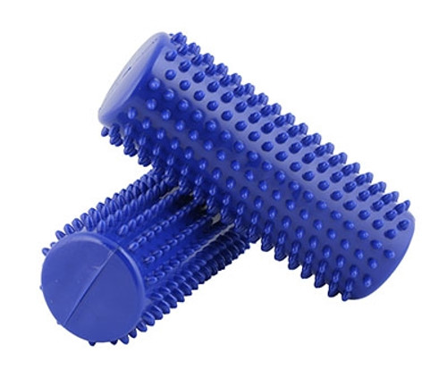 massage roll 6.5x16 cm blue