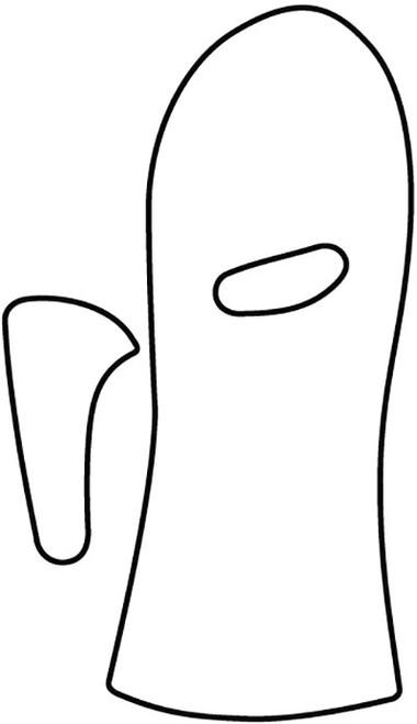 orfit eco black nsprecuts antispastic splint thumb