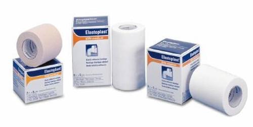 Elastic Adhesive Bandage Tensoplast Yard Medium Compression No Closure White NonSterile