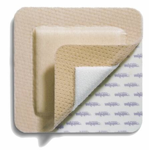 Silicone Foam Dressing MepilexBorder Silicone Adhesive with Border Sterile