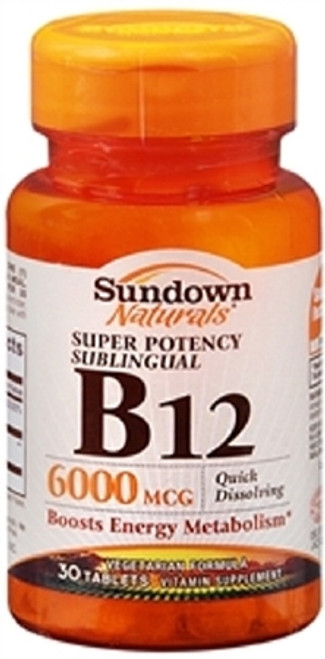 Vitamin B-12 Supplement Sundown Naturals