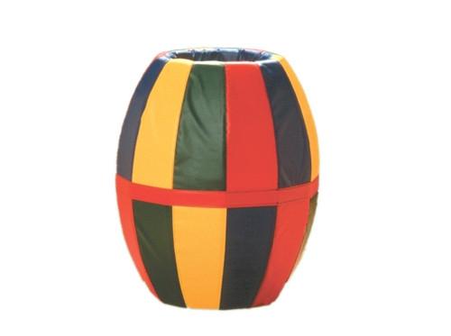 barrel roll multicolored 38l x 32diam.