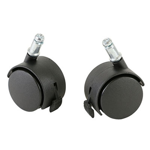 cando ball chair accessory locking casters pair