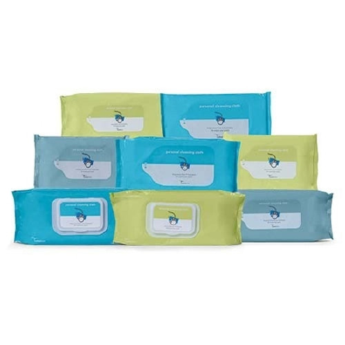 Flushable Personal Wipe Soft Pack Sodium Benzoate Aloe Unscented 42 Count
