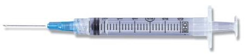 Syringe with Hypodermic Needle PrecisionGlide