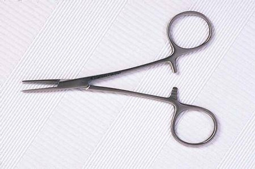 Curved Forceps Halsted-Mosquito Scissor, MooreBrand - 5 Inch