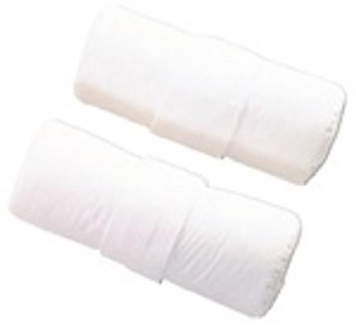 Tx Cervical Pillow Cover, White Cotton