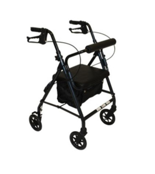 Roscoe Z600J Junior Rollator with Padded Seat 30026 30028