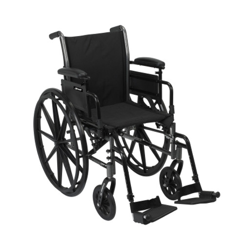 mckesson lightweight wheelchair swing away foot