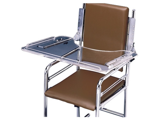 acrylic tray for roll and multiuse chairs