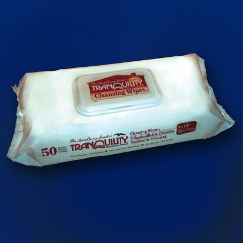 Tranquility Bath Wipe Soft Pack Aloe