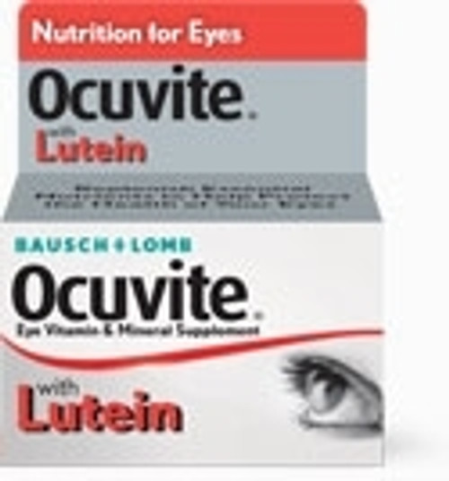 Bausch & Lomb Ocuvite Eye Vitamin and Mineral Supplement with Lutein