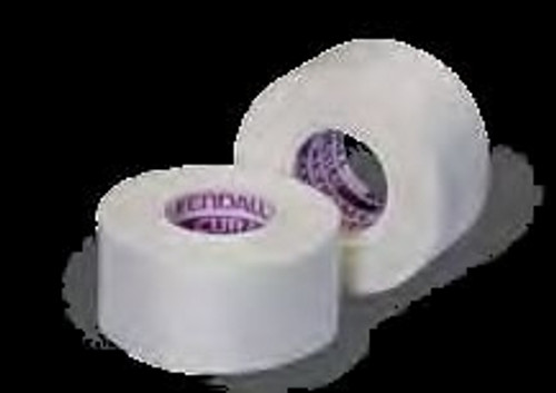 Medical Tape Kendall Waterproof Cloth White NonSterile