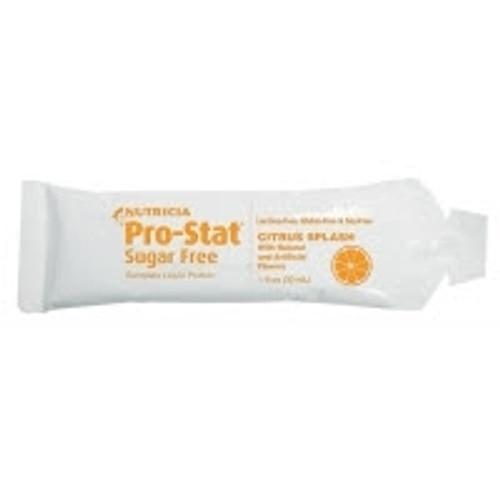 Protein Supplement ProStat SugarFree Citrus Splash Individual Packet Powder