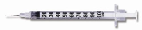 BD Micro-Fine Insulin Syringe with Needle