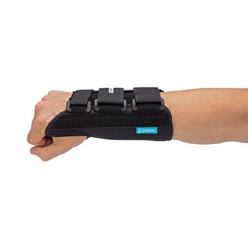 Wrist Brace Form Fit Removable Palmar Stay Fabric / Lycra Left Hand