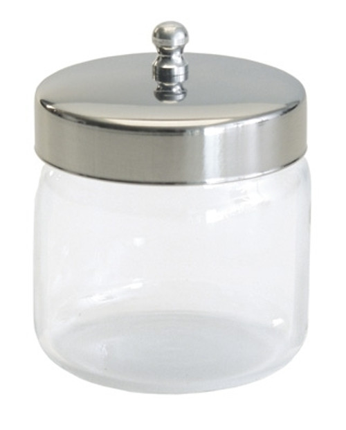 Unlabeled Dressing Jars with Covers. Measured Height x Diameter