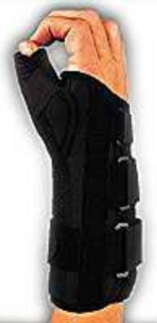 Thumb Splint Form Fit Thumb Spica Adjustable Radial and Palmar Stay
