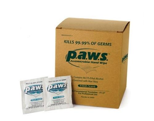 Safetec of America Paws Sanitizing Skin Wipe