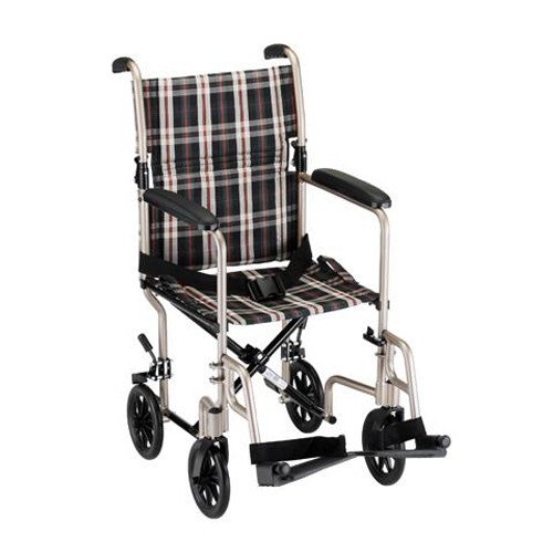 19 inch lightweight transport chair