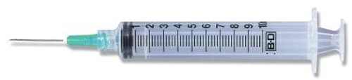 Syringe with Hypodermic Needle PrecisionGlide™ 10 mL