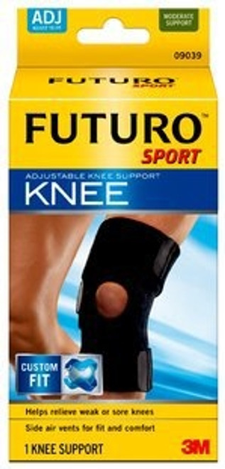 Knee Support FUTURO One Size Fits Most Slip-On Left or Right Knee