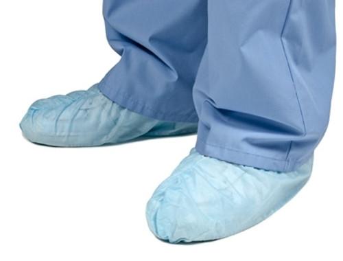 Anti-Skid Shoe Cover Lt Blue Grafco 100Ea/Bx