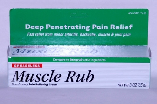 Clay Park Laboratories Muscle Rub Pain Relief