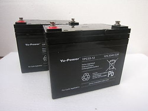 36 Amp Hr Batteries for Lynx Scooters