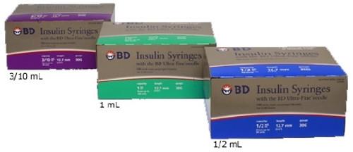 BD Ultra-Fine Insulin Syringe with Needle 2