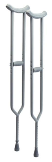 Bariatric Steel Crutches