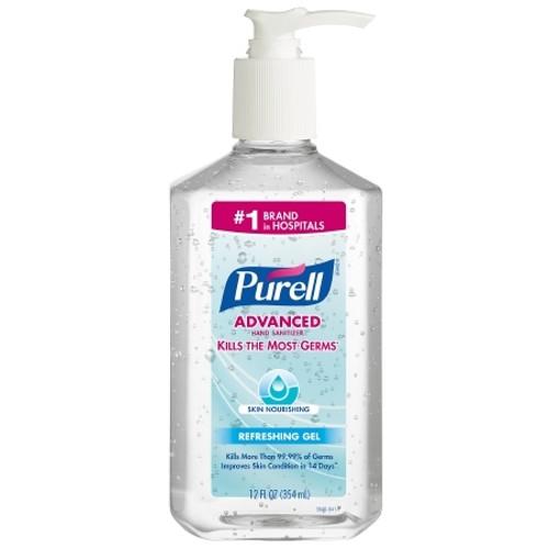 Purell Hand Sanitizer 12 oz. Alcohol (Ethyl) Gel Pump Bottle