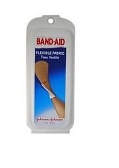 Adhesive Strip Band-Aid Fabric Rectangle Tan Sterile