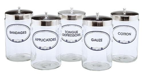 Labeled Sundry Jar