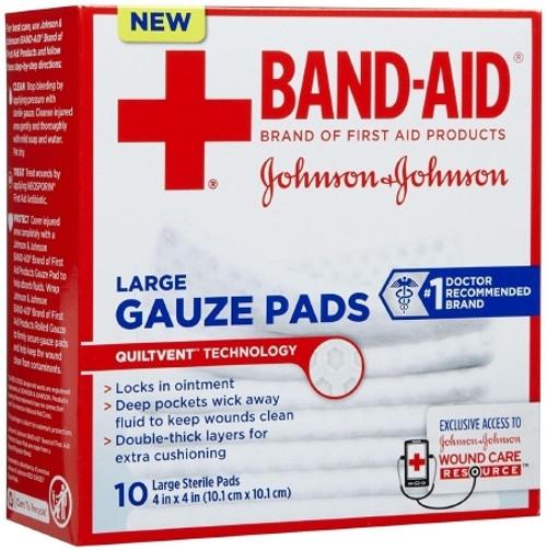 Gauze Pad Johnson and Johnson Gauze Square Sterile