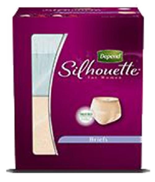 Depend Silhouette Absorbent Underwear