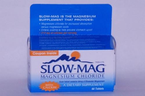 Purdue Pharma Slow-Mag Magnesium Chloride Supplement