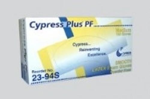 Cypress Glove Latex Exam Powder Free Small