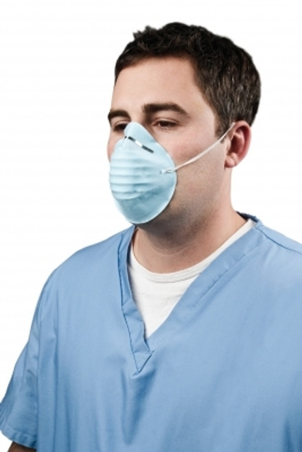 Cone Face Mask, Light Blue