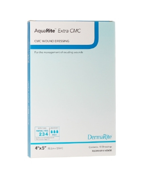 Wound Dressing AquaRite Extra CMC Sodium Carboxymethyl Cellulose / Cellulose Fibers