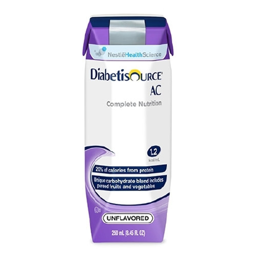 Tube Feeding Formula Diabetisource Carton Ready to Use Unflavored Adult
