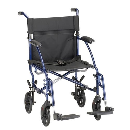 18 inch Lightweight Transport Chair