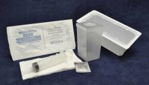 Medi-Pak Irrigation Tray With Thumb-Control Ring Piston Syringe