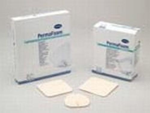 Foam Dressing PermaFoam Comfort Square Adhesive with Border Sterile