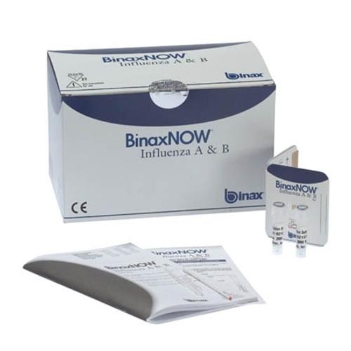 Alere BinaxNOW Influenza A & B Control Swabs