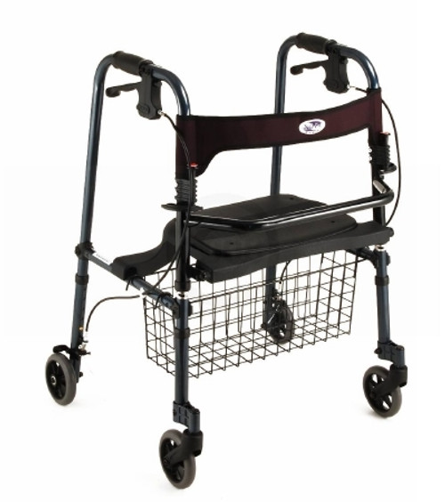 Nova Ortho-Med Cruiser De-Light 4 Wheel Rollator