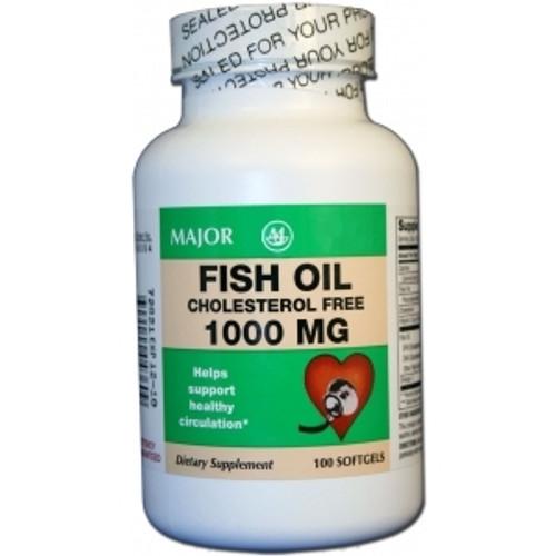 Fish Oil Supplement Major