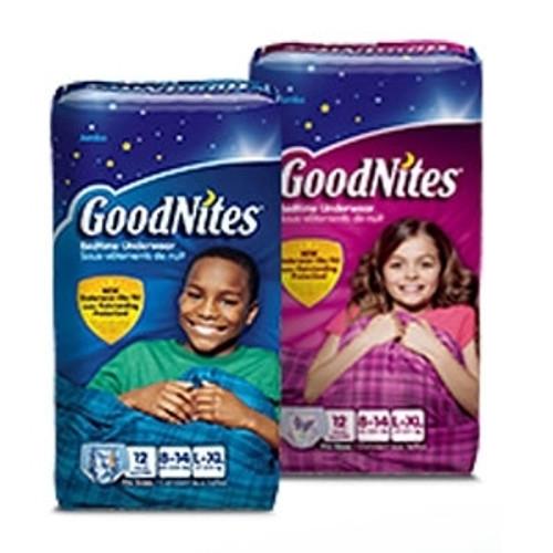 Kimberly Clark GoodNites Absorbent Underwear
