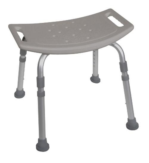 Deluxe K.D. Aluminum Bath Bench without Back